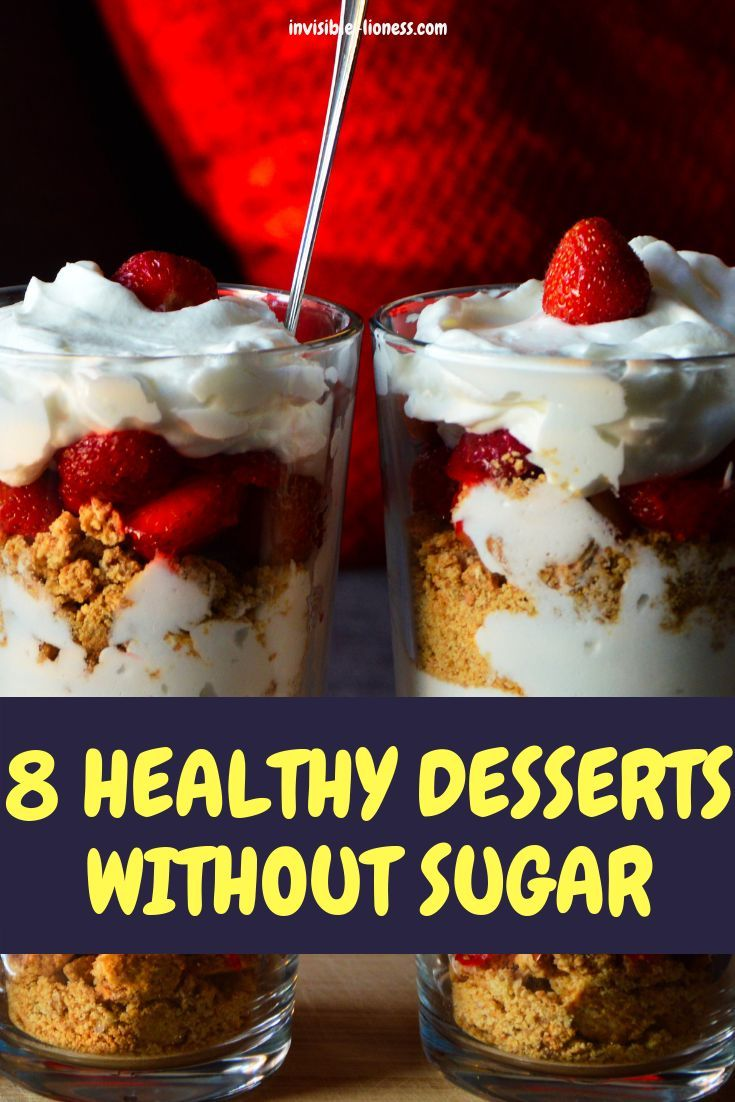 8 sugar-free desserts without artificial sweeteners. So yummy! images