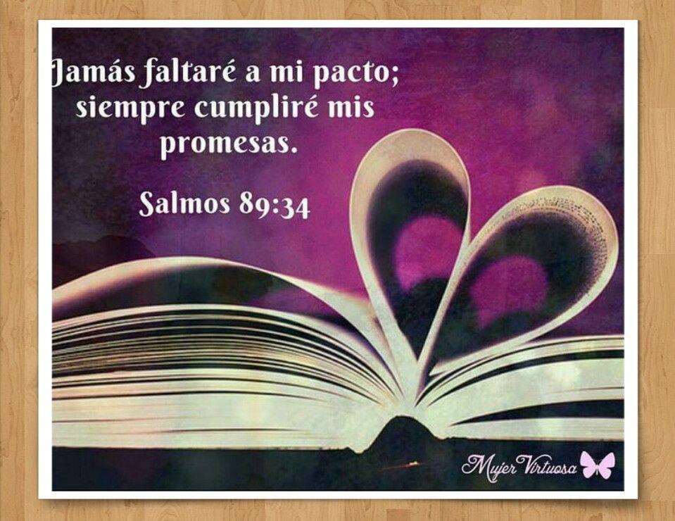 Versiculos De La Biblia De Animo: SALMO 89:34 #DiosTeAmaayPeleaporsusHijos...