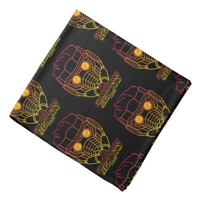 Guardians of the Galaxy  StarLord Neon Outline Bandana