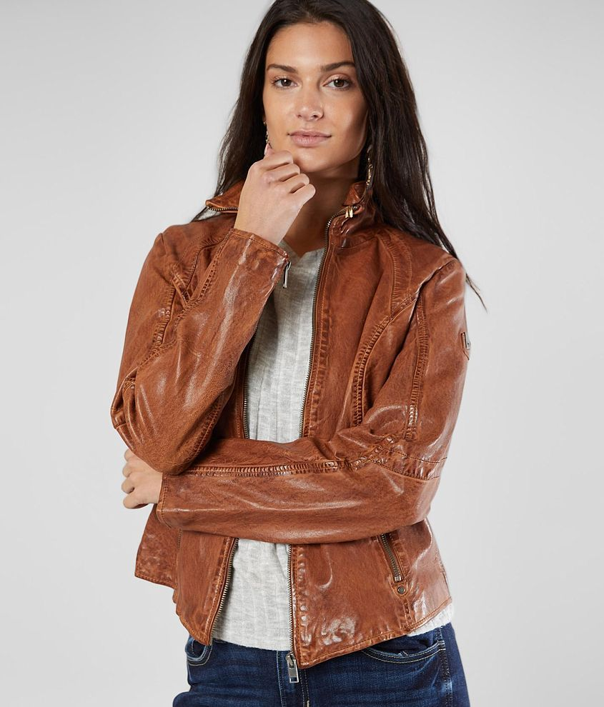 Mauritius Else Leather Jacket Women S In 2021 Leather Jackets Women Leather Jacket Jackets For Women [ 990 x 845 Pixel ]