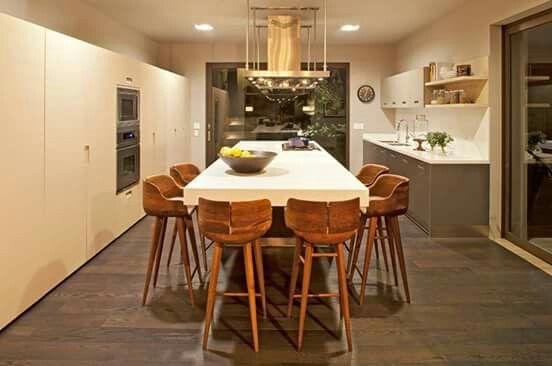 #Cocina #Casa creada por el estudio Extracto junto al arquitecto Pablo Roldán + http://bit.ly/1cQOnpk