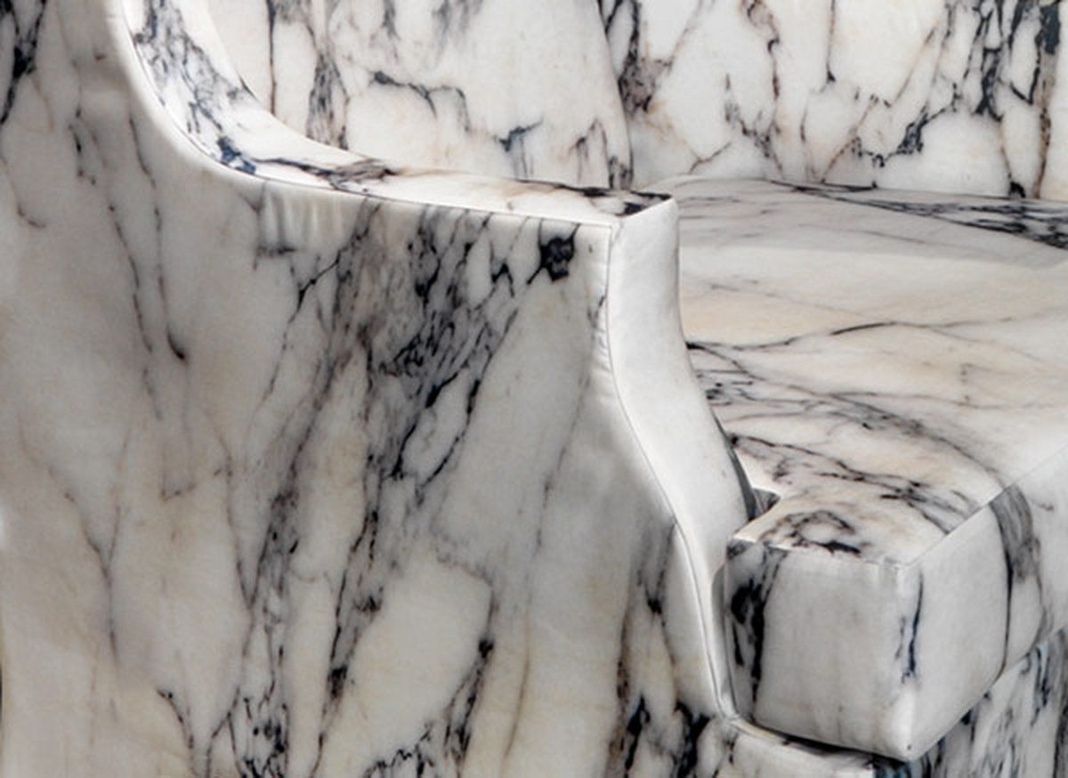 simple chair with Carrara marble print photography 2 marble marble
