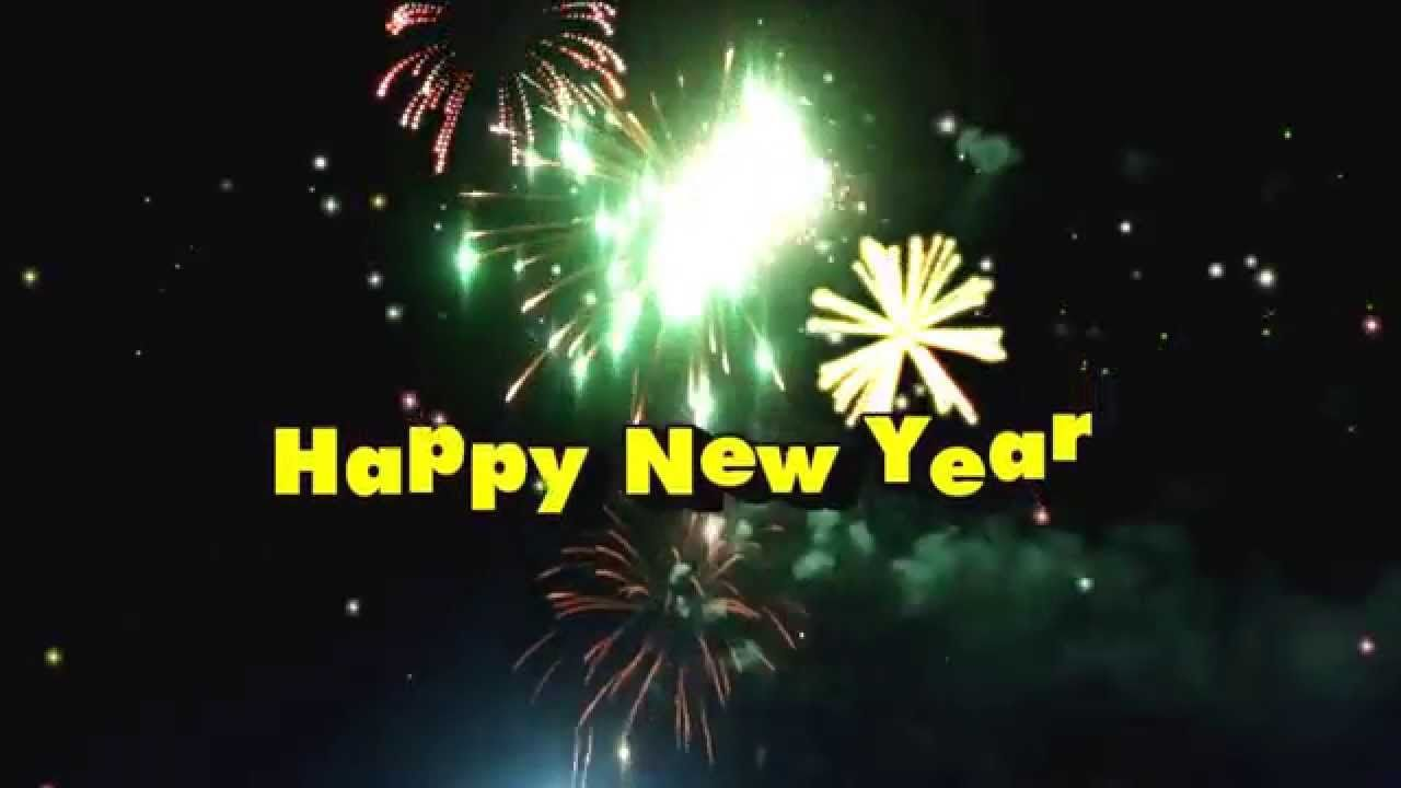 Happy new year fireworks video greeting 2015 holidays and party happy new year fireworks video greeting 2015 m4hsunfo
