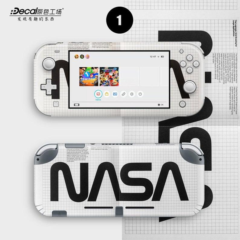 Nasa Skins For Nintendo Switch Lite Full Set Of 2 Skins Ns Etsy Nintendo Switch Macbook Decal Nasa