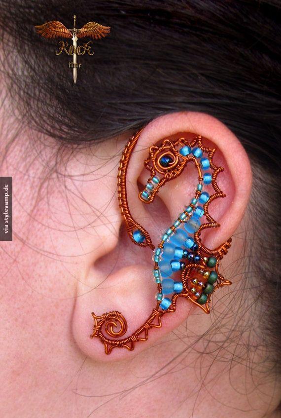 Ein Seepferdchen am Ohr... | Seepferdchen | Pinterest | Seepferd ...