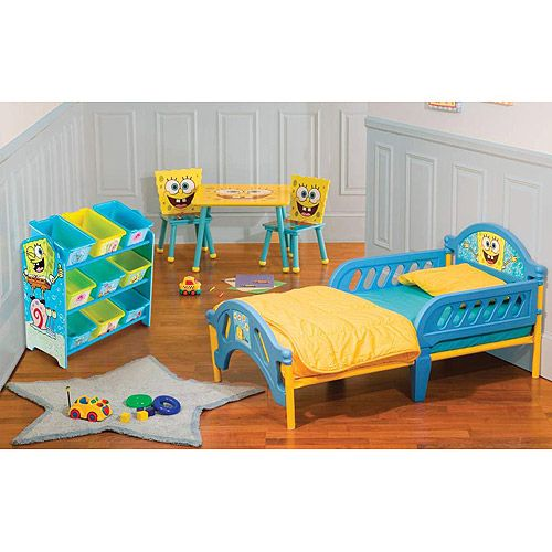Baby Bedroom In A Box Special: Spongebob Room-in-a-Box Bundle: Toddler