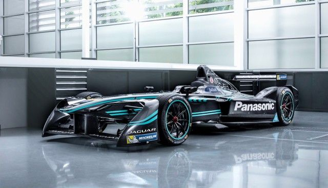 Jaguar I Type Formula E Race Car Formula E