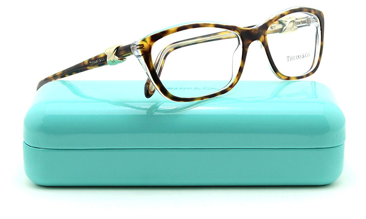6e9d466adbf0 Amazon.com  Tiffany   Co. TF 2074 Women Cat-Eye Eyeglasses RX - able Frame ( HAVANA TRANSPARENT 8155