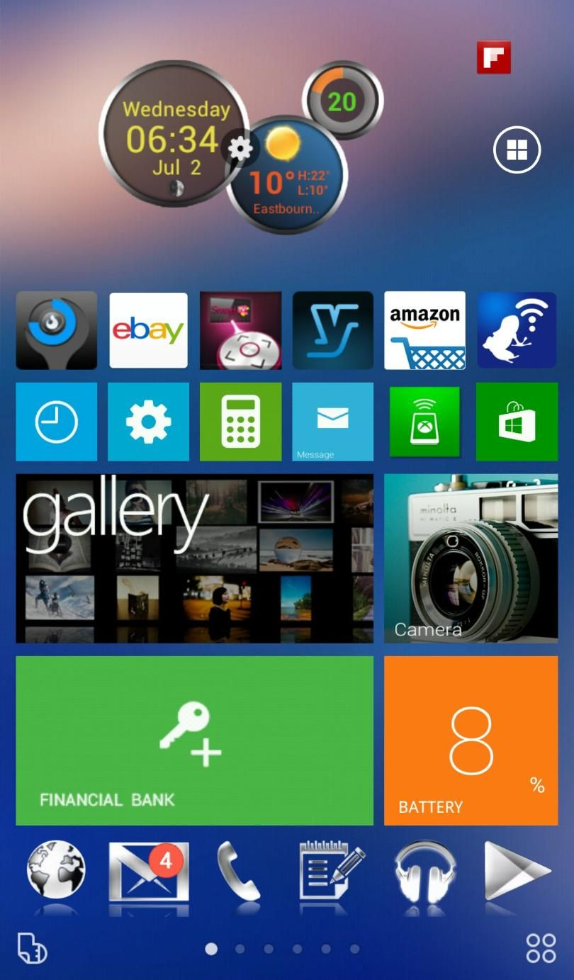 Homepack Buzz] Check out this awesome homescreen! Dazzy Cool
