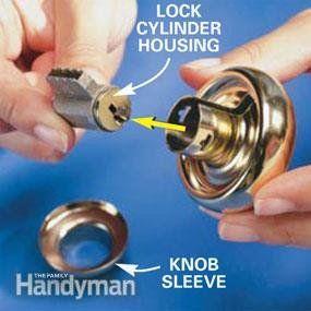 How To Re Key A Door Lock In 2020 Diy Home Repair Door Locks Home Repair