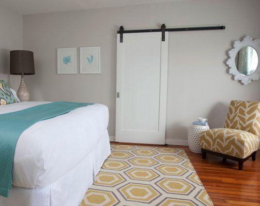 63 Awesome Sliding Barn Door Ideas Eclectic Bedroom Yellow Bedroom Bedroom Design