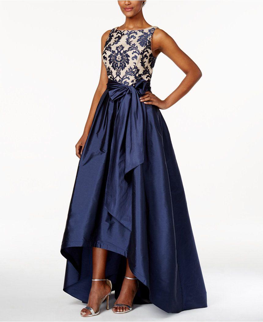 macys prom dresses blue