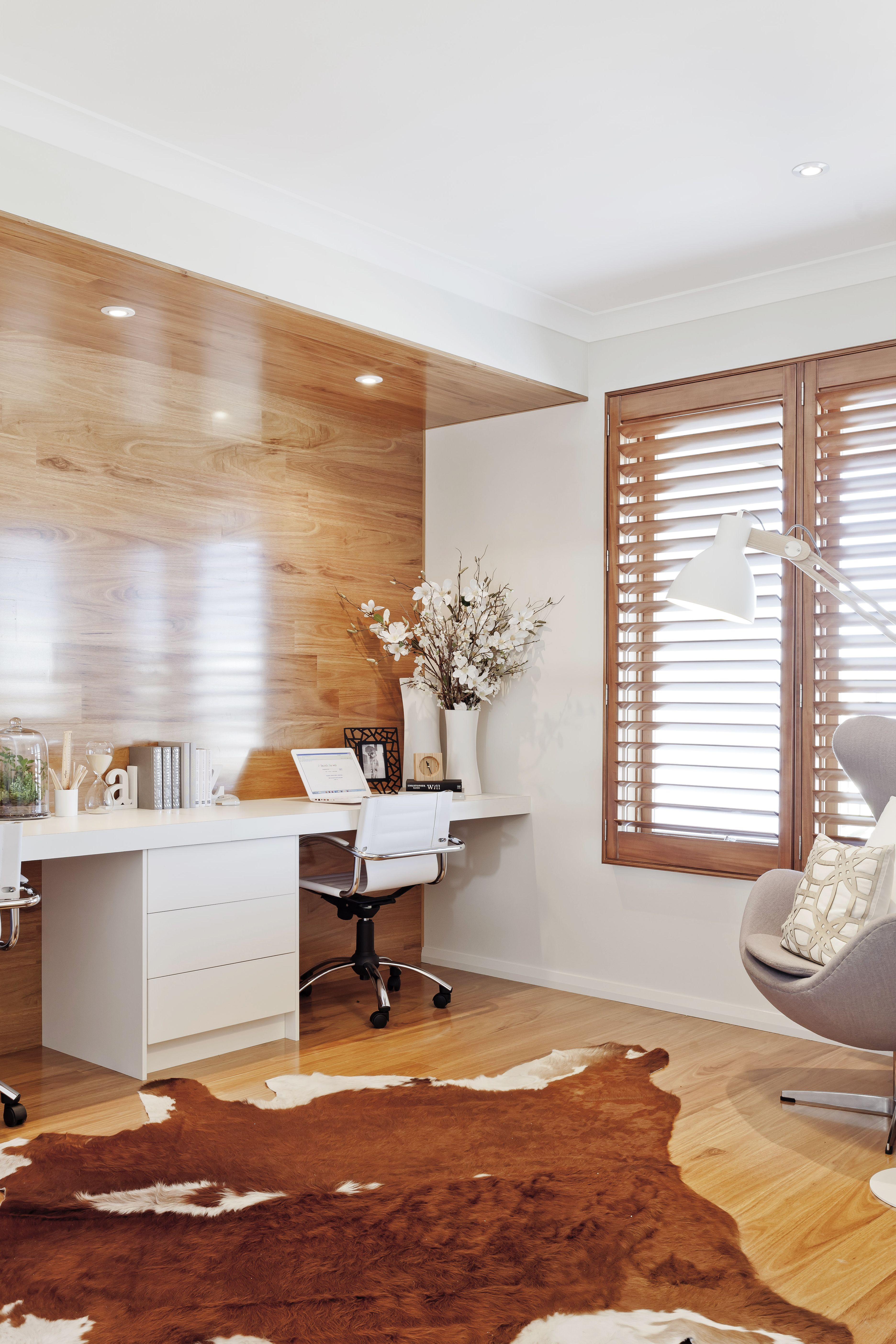 The immaculate study of the Pacific display home that was