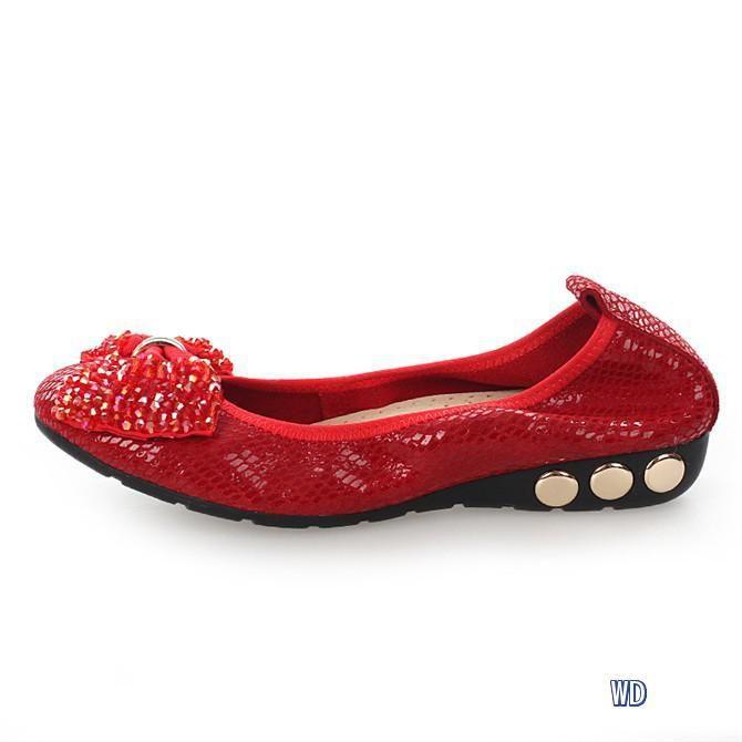 Miu Miu flats | Miu miu flats, Red ballet flats, Ballerina shoes