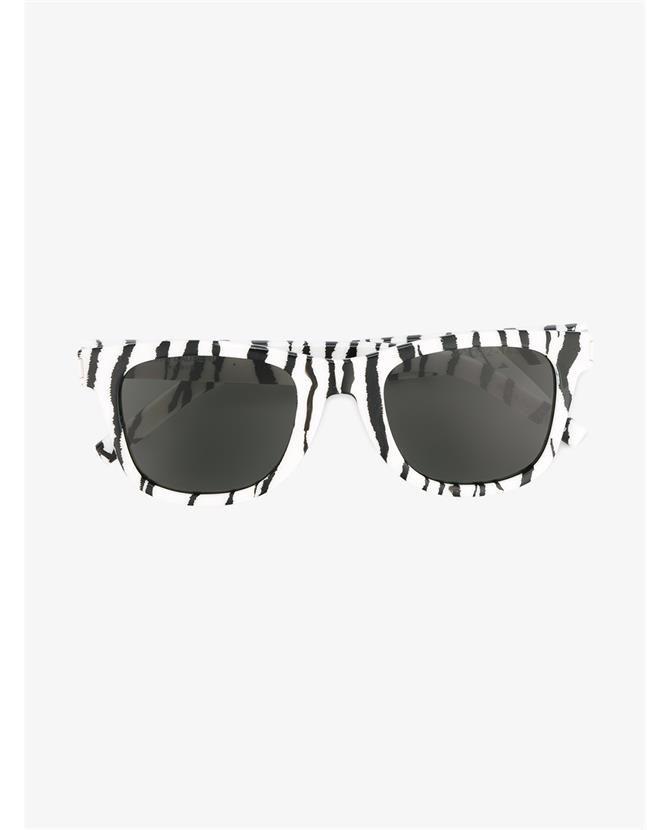 SAINT LAURENT SL51 002 Zebra Print Sunglasses   Sunglasses   Zebra ... b91d7facd3