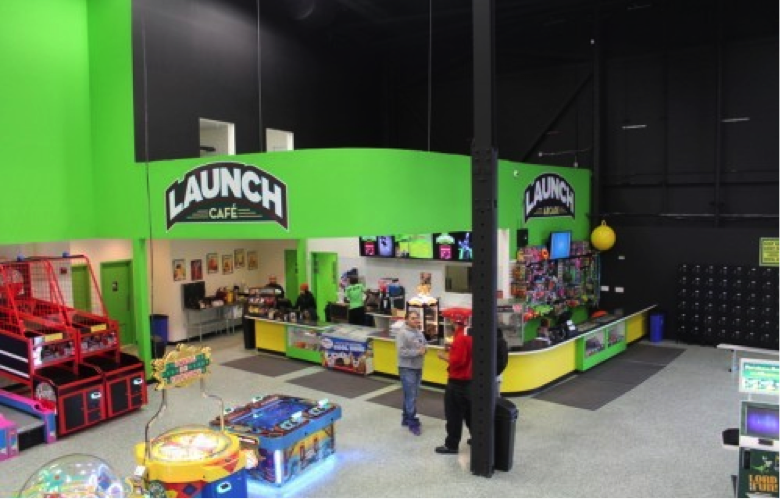 cafe at Launch Trampoline Park - Hartford, CT | Launch Hartford ...