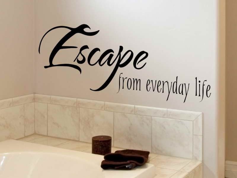soap soul bathroom wall quote if you sprinkle details modern bathroom decorating with wall stickers