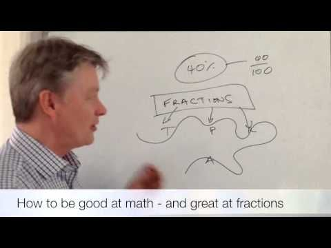 How to be good at mathematics - and great at fractions! - YouTube