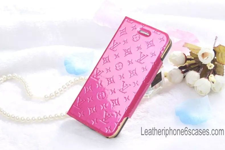Independent Designs Real Leather Pink Case for iPhone 6S / iPhone 6S Plus - Shopping at LeatheriPhone6SCases