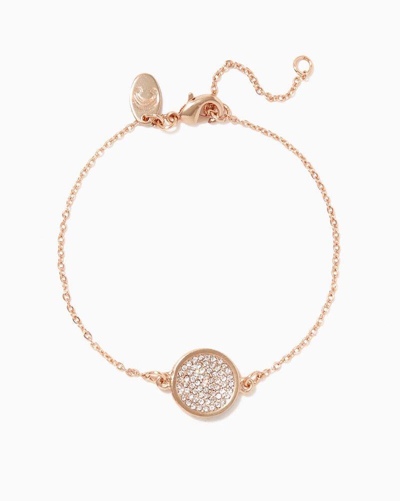 charming charlie Shimmer Stone Delicate Bracelet UPC