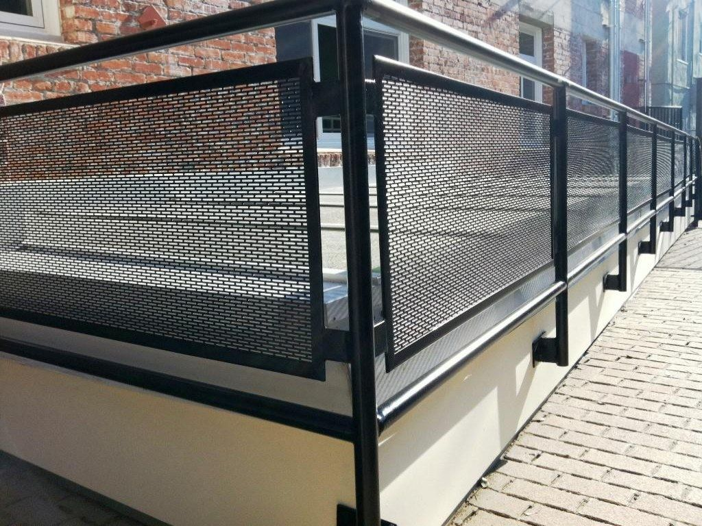 House Terrace Designs With Images Outdoor Stair Railing