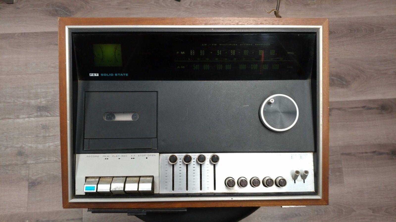 JVC NIVICO S-10583 Cassette Stereo Vintage Player