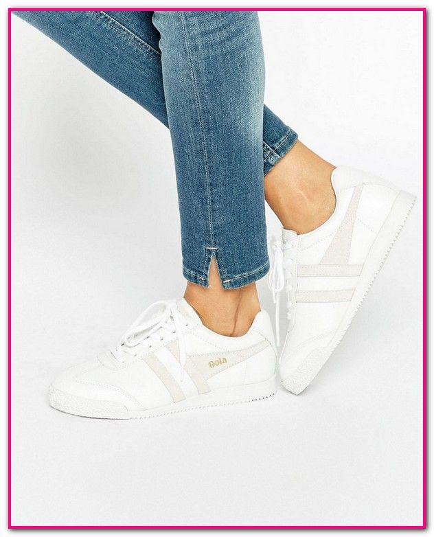 Günstige Weiße Sneaker Damenpassende Schuhwerk. Jetzt