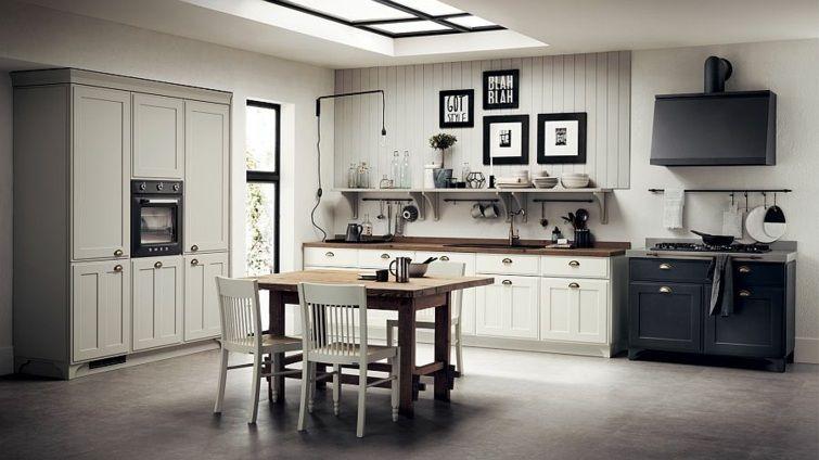 Cuisine shabby chic un décor moderne et romantique Cuisine