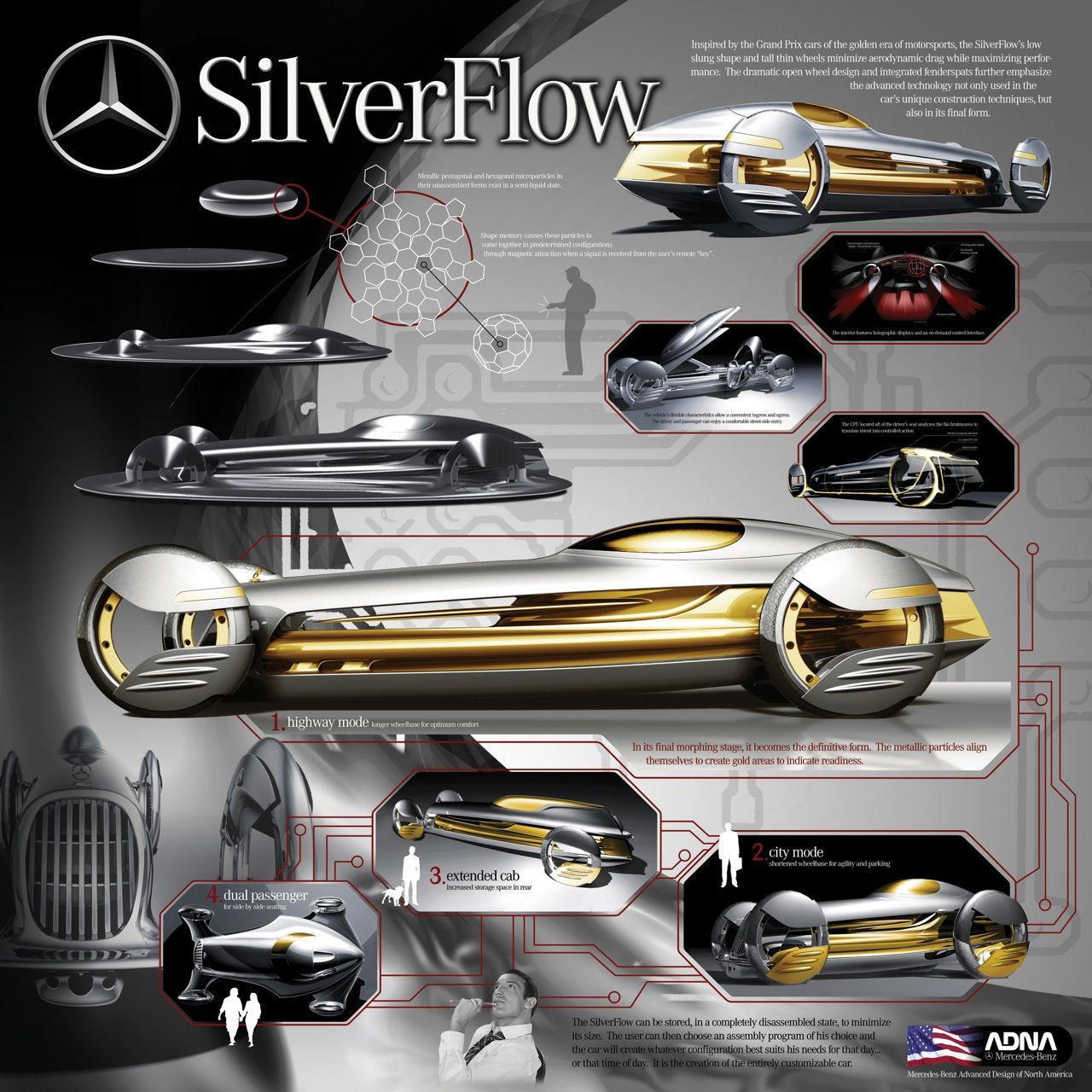 Mercedes-Benz Silver Flow Concept