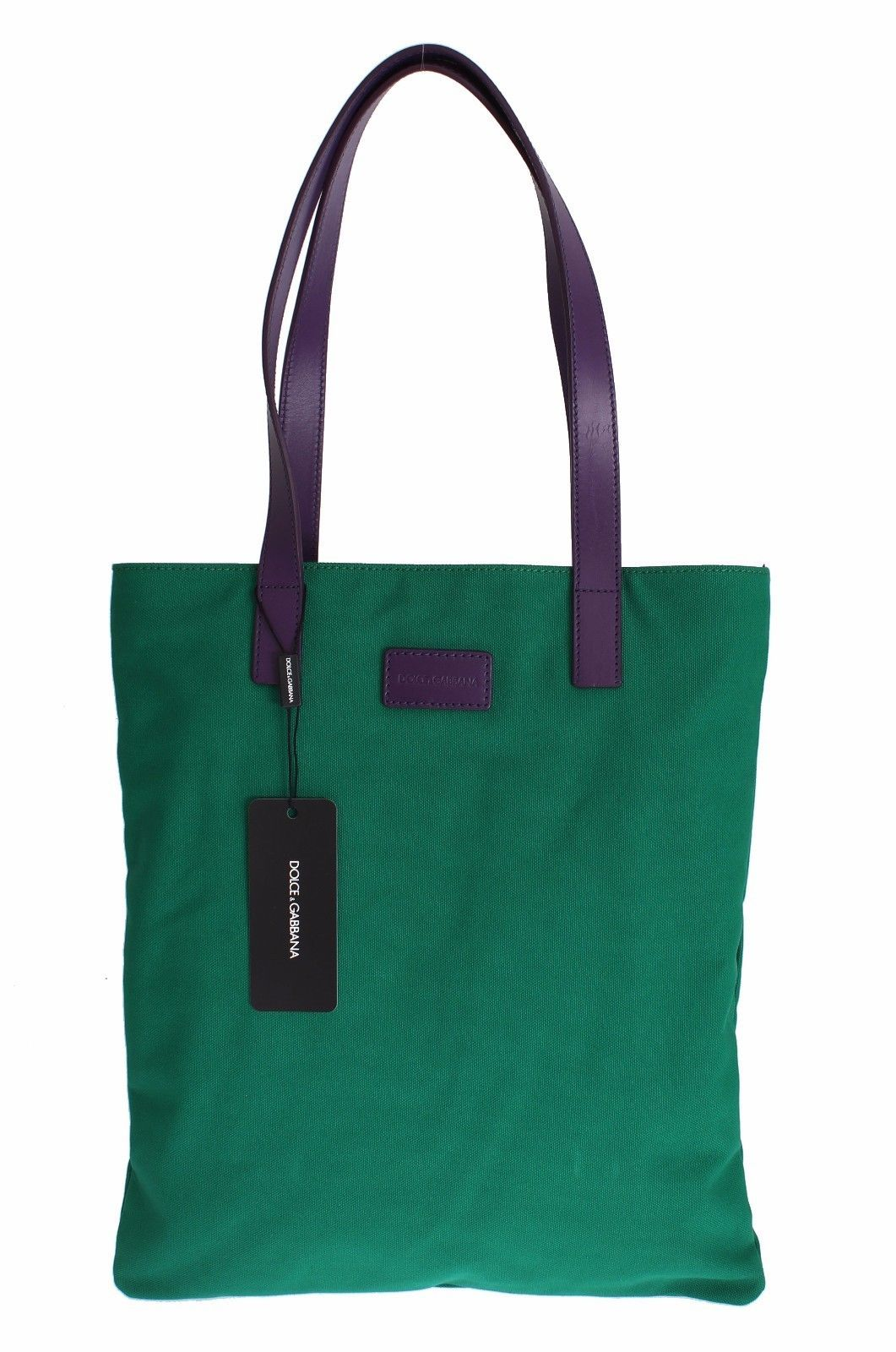 ed5fdfe51a71 Dolce   Gabbana Green Denim Leather Hand Shoulder Travel Bag in 2018 ...