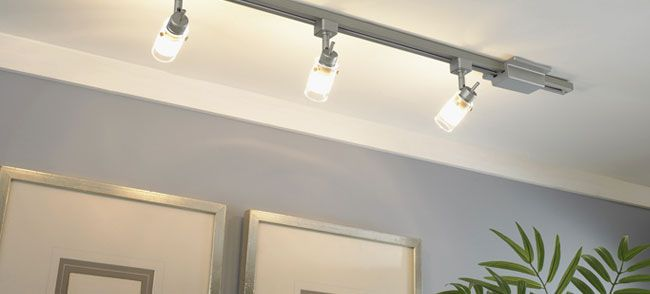 Track Lighting Provides Both Form And Function Low Profile Track