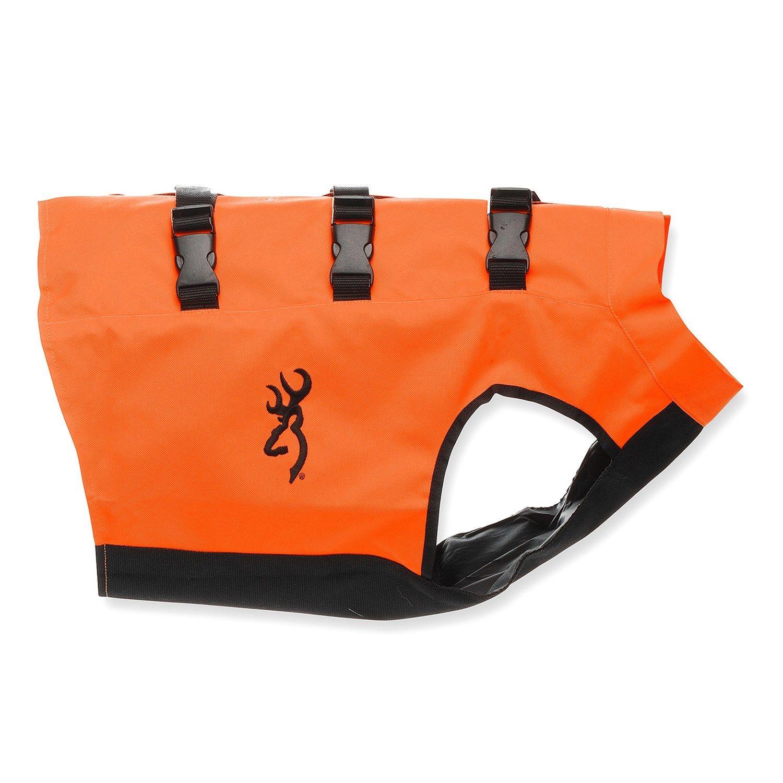 Browning dog safety vest in blaze orange dog safety vest