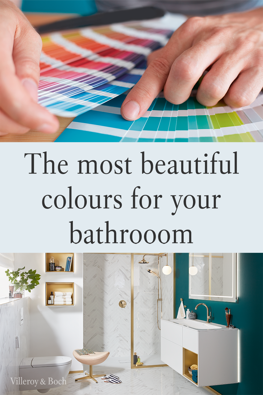 Colour Trends For Your Bathroom Badezimmer