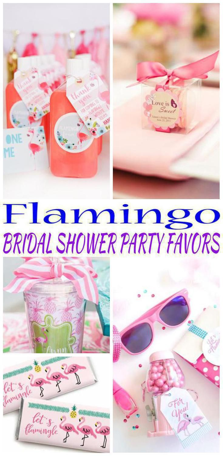 Flamingo Bridal Shower Party Favors | Pinterest | Shower favors ...