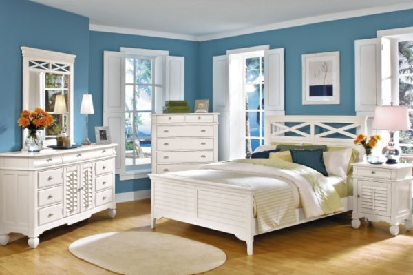 Clean Bedrooms Adorable You Can Even Use Bold Colors If You Stick To A Clean Color Scheme Design Inspiration