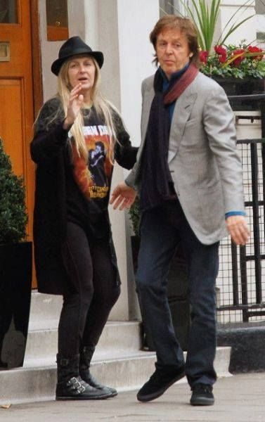 Paul And Adopted Daughter Heather Eastman McCartney
