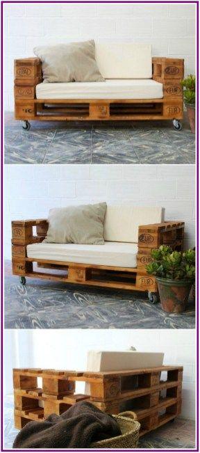 26 Inspiring Wooden Pallet Sofa Designs 00021 Pallet Furniture Couch Pallet Furniture Outdoor Wooden Pallet Furniture