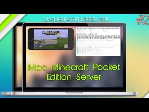 How To Setup Minecraft Pocket Edition Server MAC Http - Minecraft pe server erstellen mac