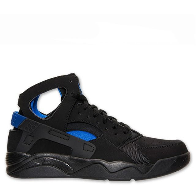 intelectual noche Práctico  Nike Air Flight Huarache - Black Lyon Blue | Nike shoes cheap, Nike air  huarache, Black huarache
