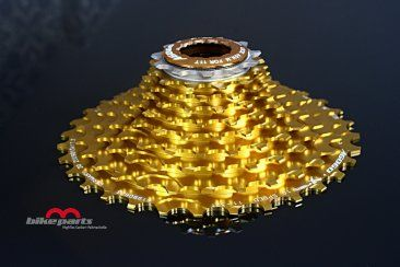 11-42 Kassette 11 Fach für Shimano Sport & Freizeit m-bikeparts Gold Star.