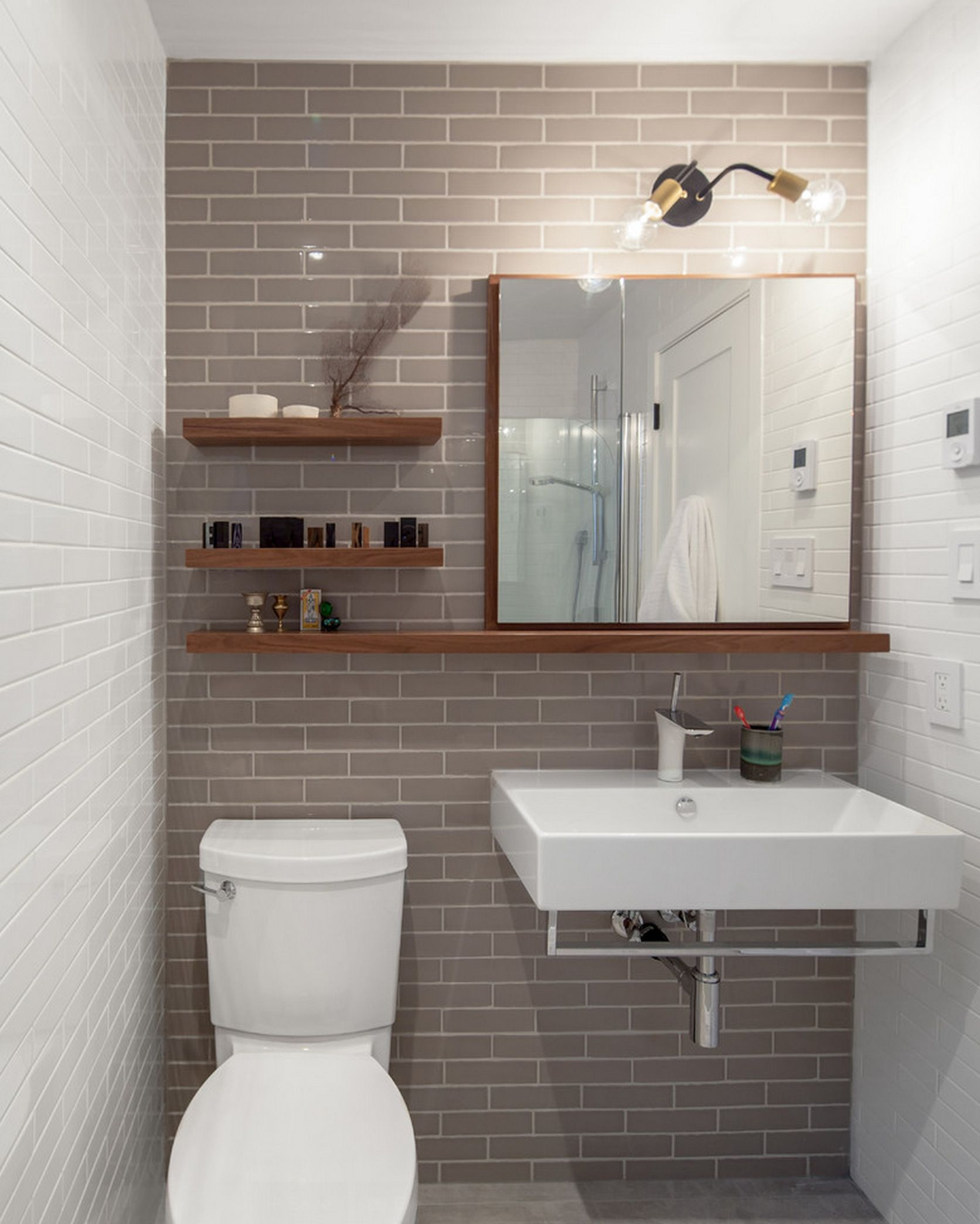 Modern Bathrooms Design Choosing Mirror And Other Interior