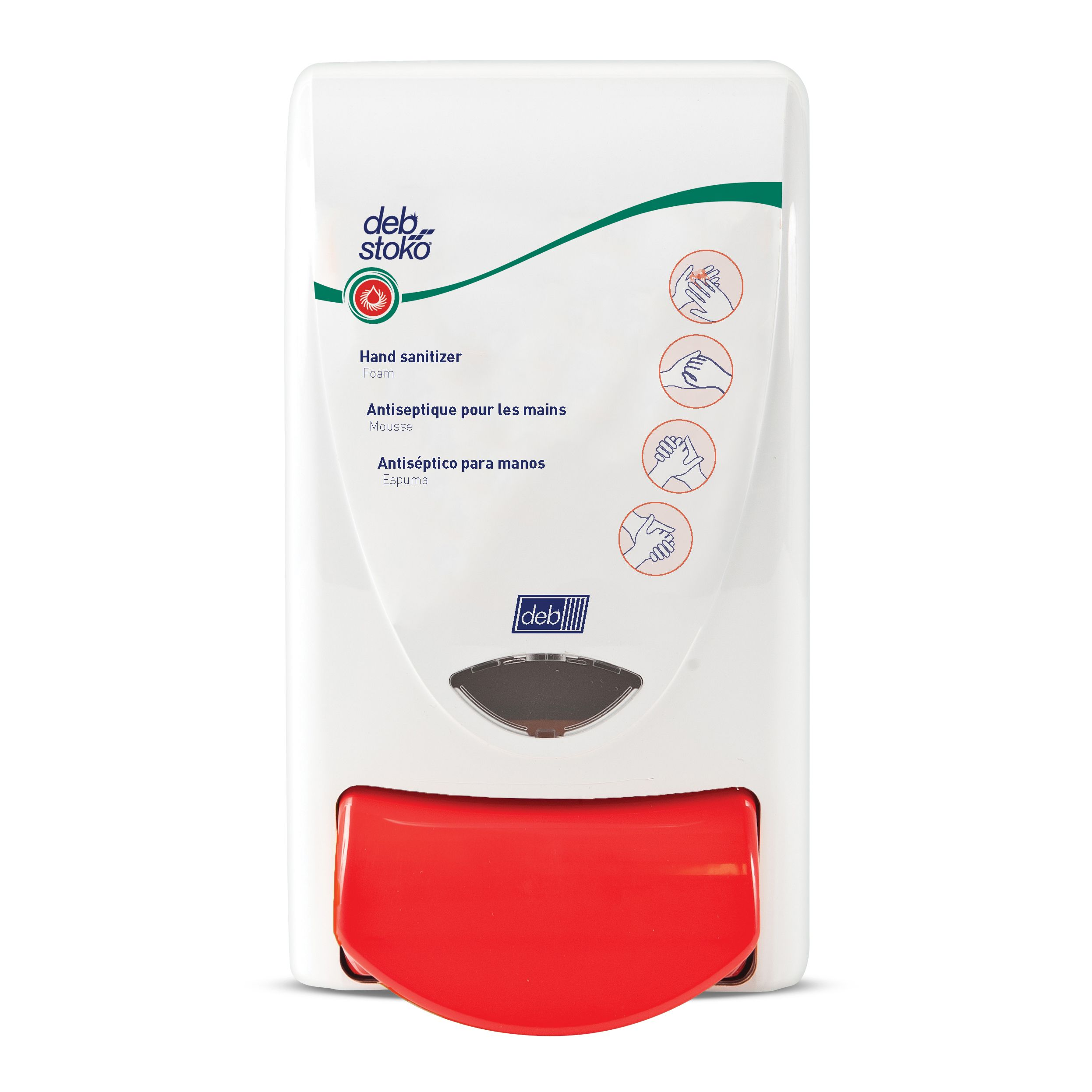 The Deb Stoko Sanitize Dispenser Is For Use With Sanitize 1 Liter