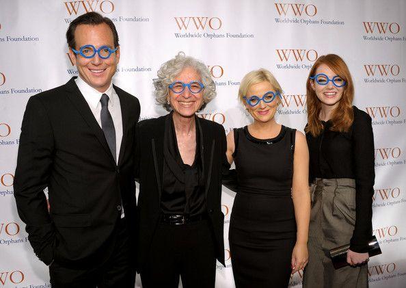 Will Arnett, Jane Aronson, Amy Poehler & Emma Stone