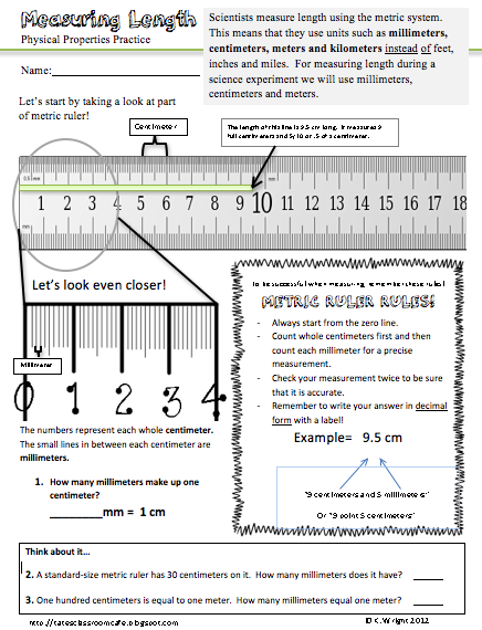 metric ruler freebie as seen on sixth grade staff. Black Bedroom Furniture Sets. Home Design Ideas