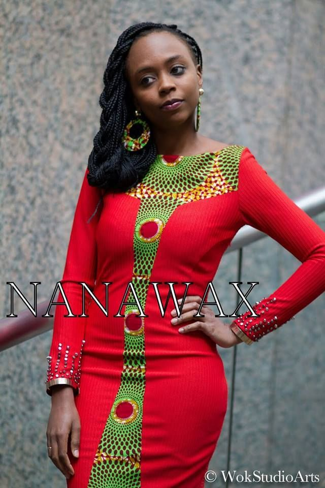 African fashion design wazzzzz!!!!!!!!!!!! more subtle but