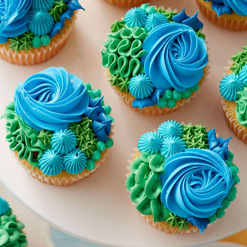 Photo of Happy Earth Day Cupcakes