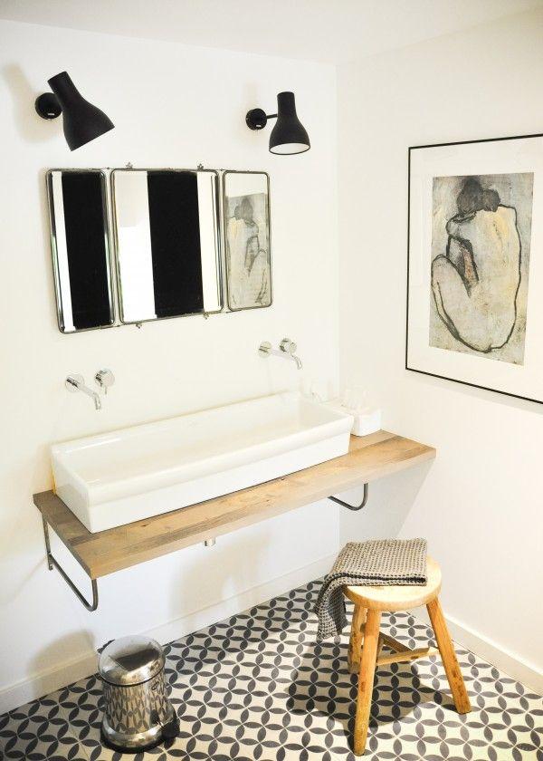 De jolies salles de bain pour se sentir bien\u2026 Qu\u0027elles soient - plan d une maison simple