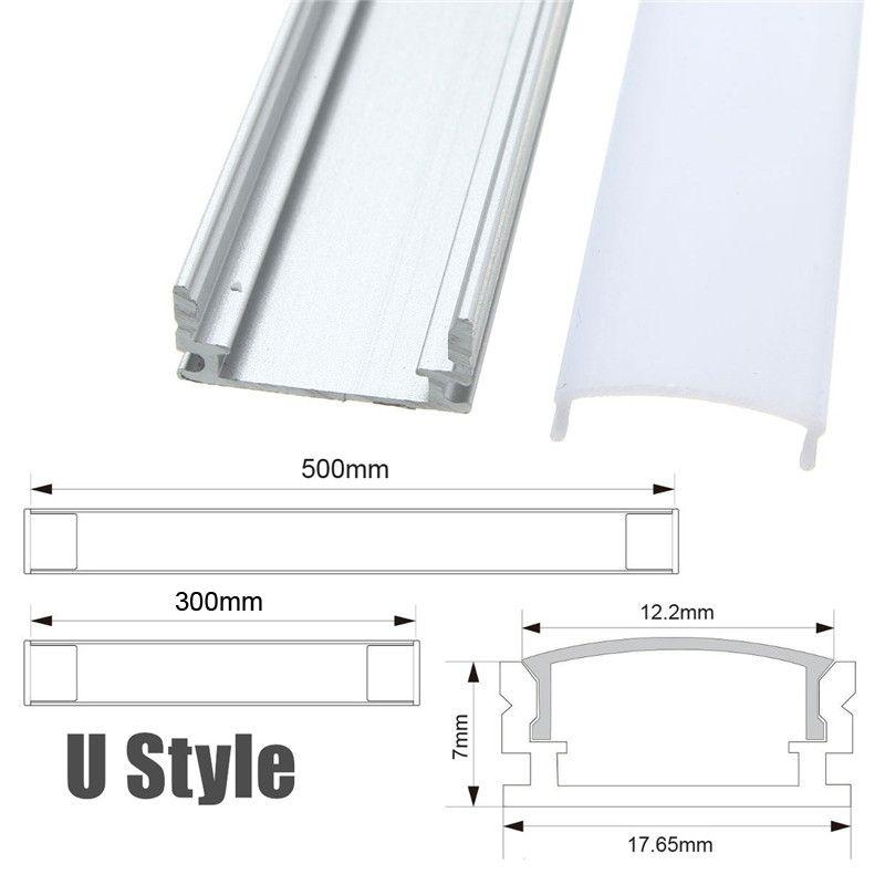 Aluminium-Profil-30-50cm-fuer-LED-Streifen-Aluprofil-Streifen-Light ...