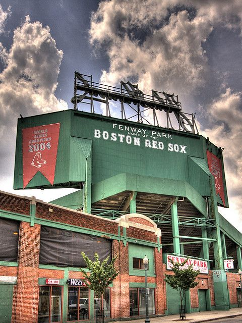 Seen The Green Monster Outside Still Need To Go A Game Herelove Old Ballparks