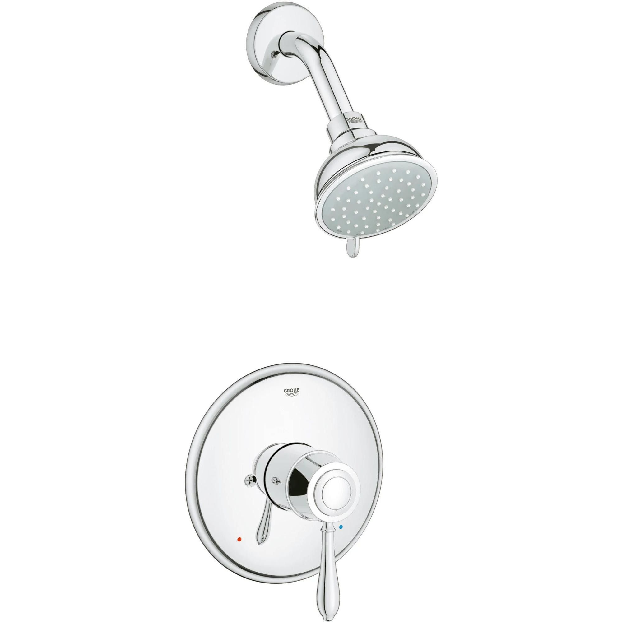 Grohe America Inc 35 046 Fairborn Shower Trim Package With